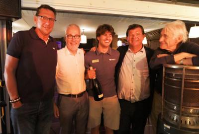 Viering wereldkampioen Simon De Gendt