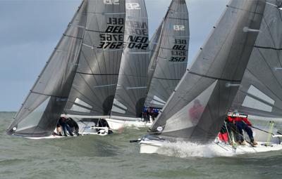 Belgian Open SB20 start